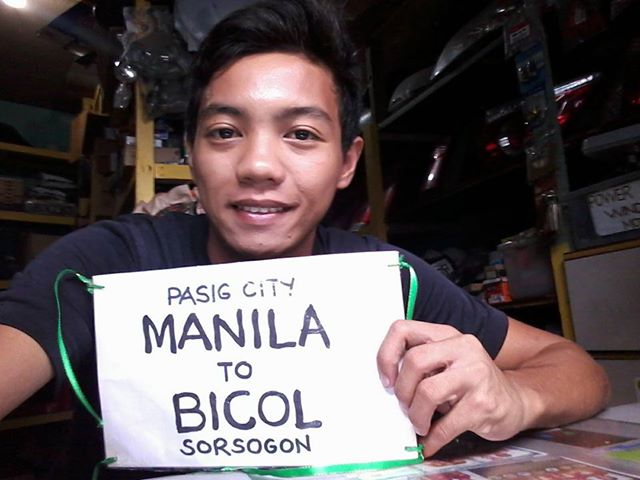 Read This Touching Story of a Netizen Who Bikes All the Way From Manila to Bohol for His Sick Brother!