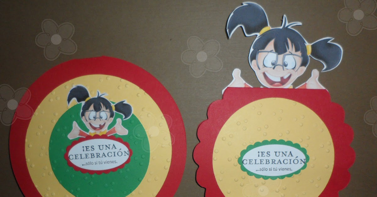 Dahsiaar Chilindrina Lollipop Invitations Invitaciones De