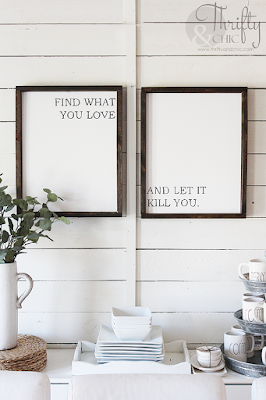 diy framed canvas signs. diy farmhouse signs. The best diy farmhouse decor projects for you home! Farmhouse decor and decorating ideas.