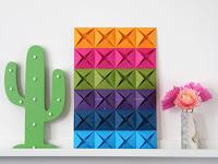 Cara Membuat Hiasan Dinding Kelas Dari Kertas Origami Kreatif, Menarik, dan Mudah