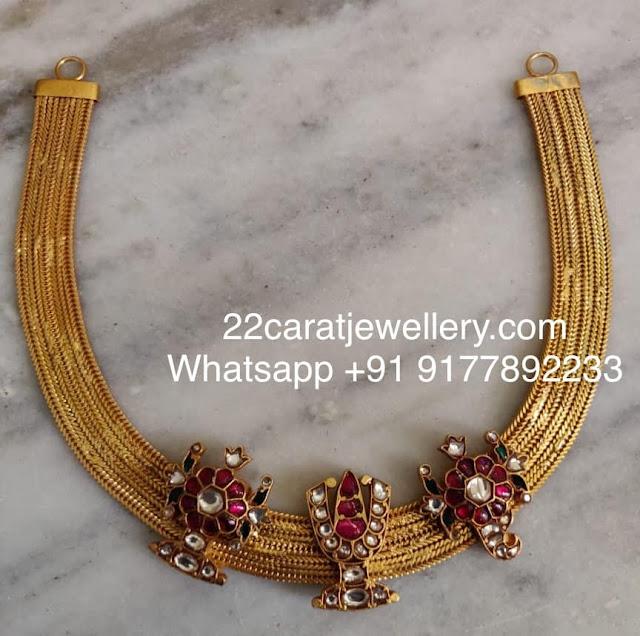 Shanku Chakra Chain in 925silver