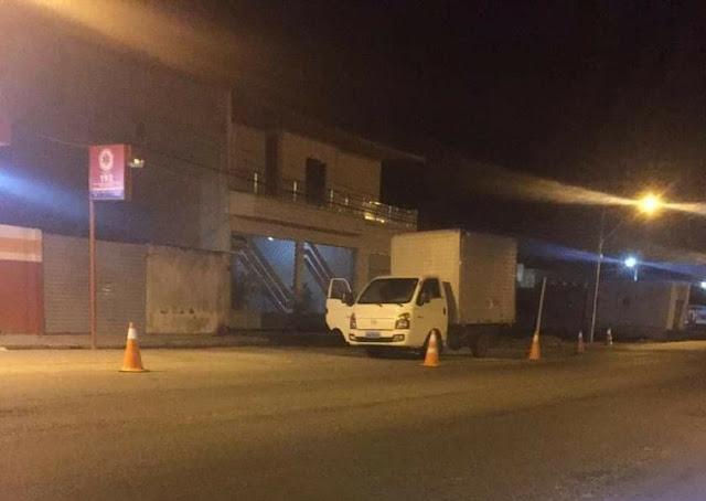 Socorristas do Samu de São José da Tapera evitam princípio de incêndio em caminhão