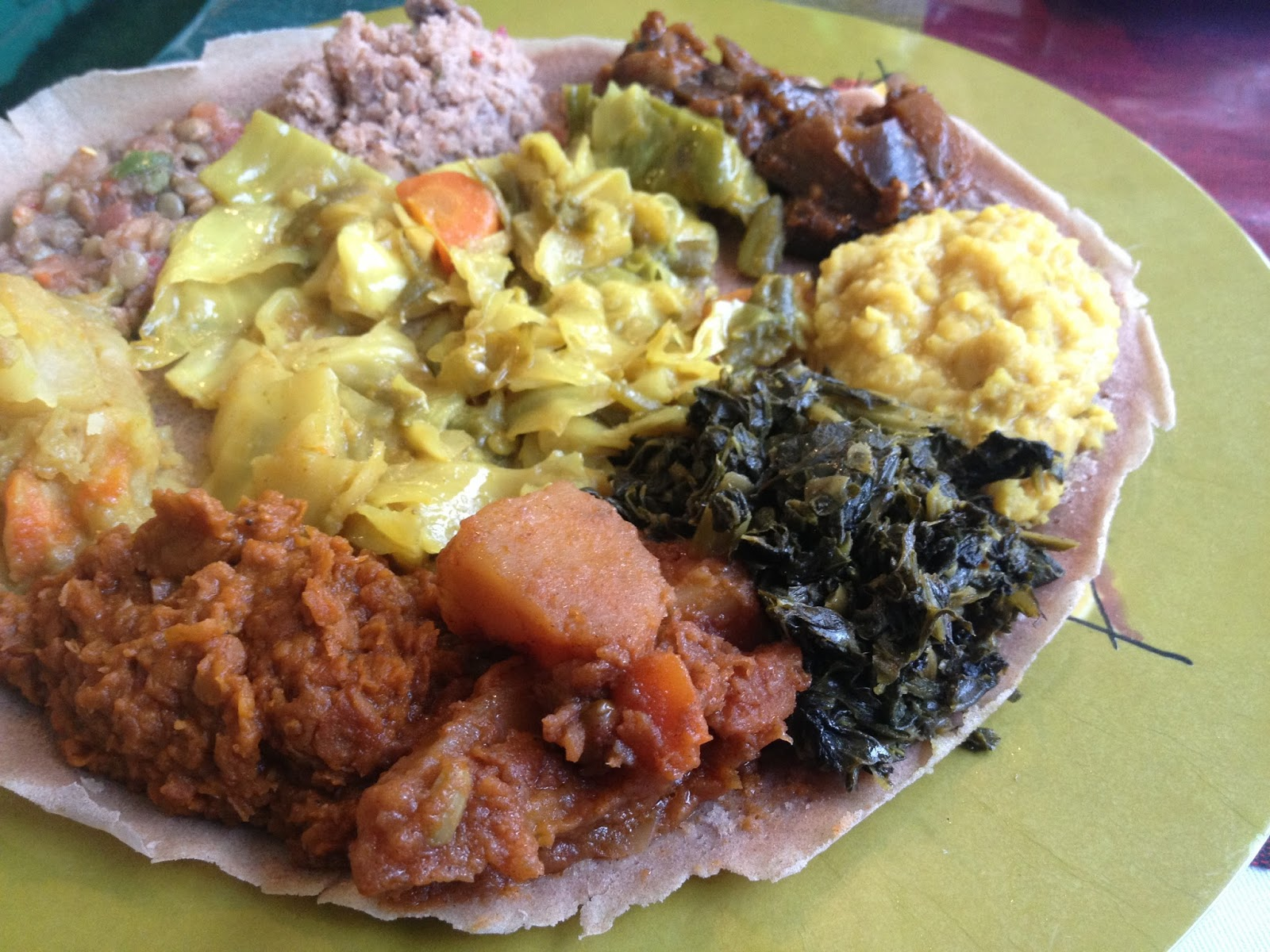 Because Of This Propensity For Ethiopian Food Tourism I Stopped At Aster S Restaurant When Was In Austin Traveling With Fellow Fans