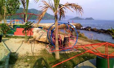 Kahai beach lampung