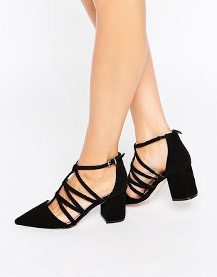 zapatos negros para vestido