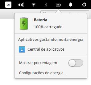 Imagem: Notificação de aplicativos que utilizam muita bateria.