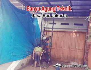 Jasa sumur bor Jakarta selatan & Tangerang selatan