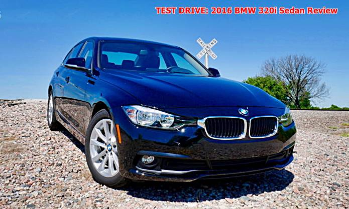 TEST DRIVE: 2016 BMW 320i Sedan Review   Auto BMW Review