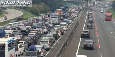 Jasa Marga Siapkan Jalur Contraflow Dari Gerbang Tol Cikarang Utama