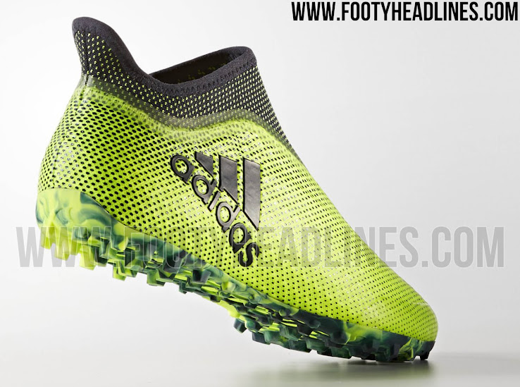 d168a6562 The second colorway of the laceless Adidas X 17+ Purespeed Tango is  included in the Adidas 2017-18 Ocean Storm football boots pack.