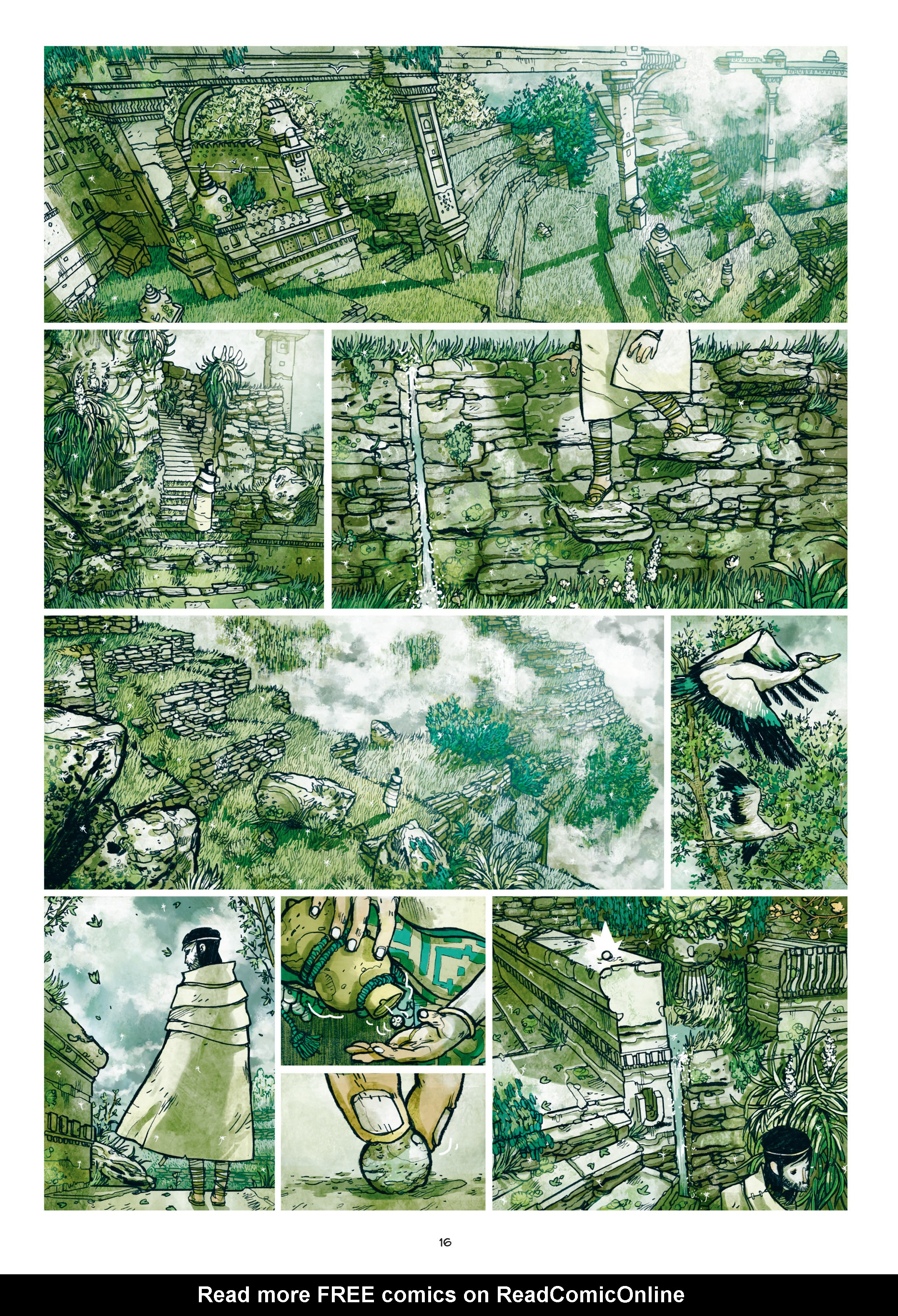 Read online Adrastée comic -  Issue #1 - 17