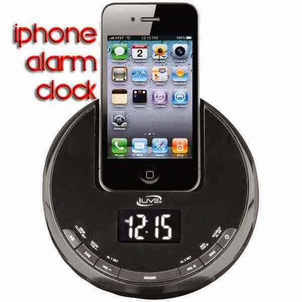iPhone Alarm Clock Radio