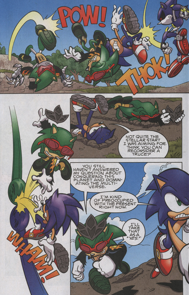 Read online Sonic The Hedgehog comic -  Issue #192 - 4