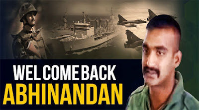 Abhinandan Back to india