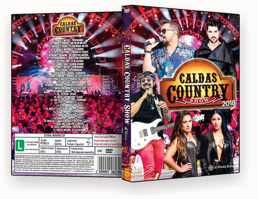 CAPA DVD – Caldas Country 2018 DVD-R 2018