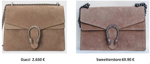 Imitación de bolsos Gucci