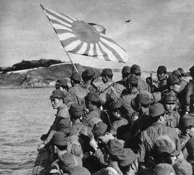 Japanese marines, 9 January 1942 worldwartwo.filminspector.com