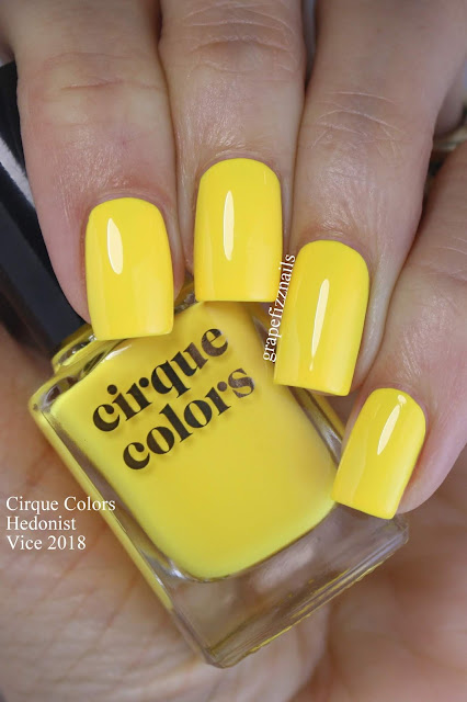 hedonist cirque colors vice 2018