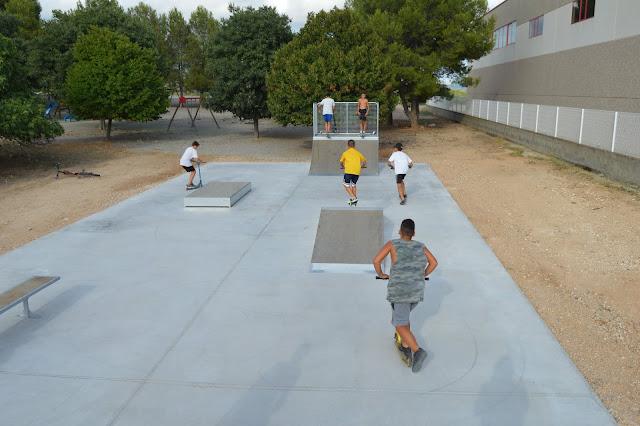 Esguard de Dona - Nou equipament lúdic a Sant Jaume dels Domenys: Un skatepark
