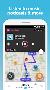 Waze GPS, Maps, Traffic Alerts & Live Navigation v 4 52 5 5 APK