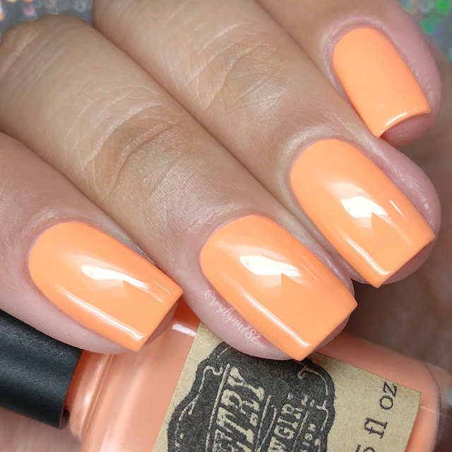 Poetry Cowgirl Nail Polish - Gin & Carrot Juice