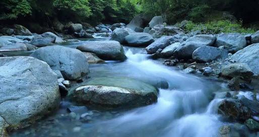 Jalani Kehidupan Mengalir seperti Air