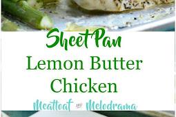 Sheet Pan Lemon Butter Chicken and Asparagus