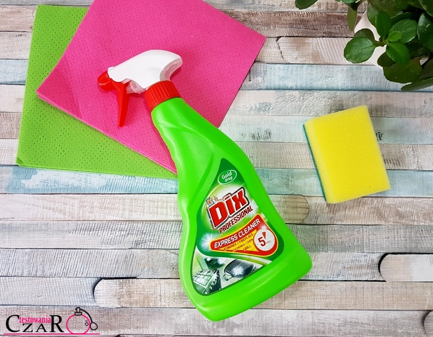 Gold drop Dix Professional Express cleaner