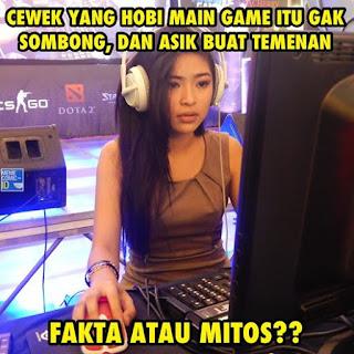 Berteman dengan Cewek Gamers
