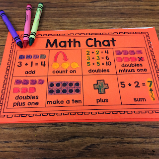 Portable math word walls