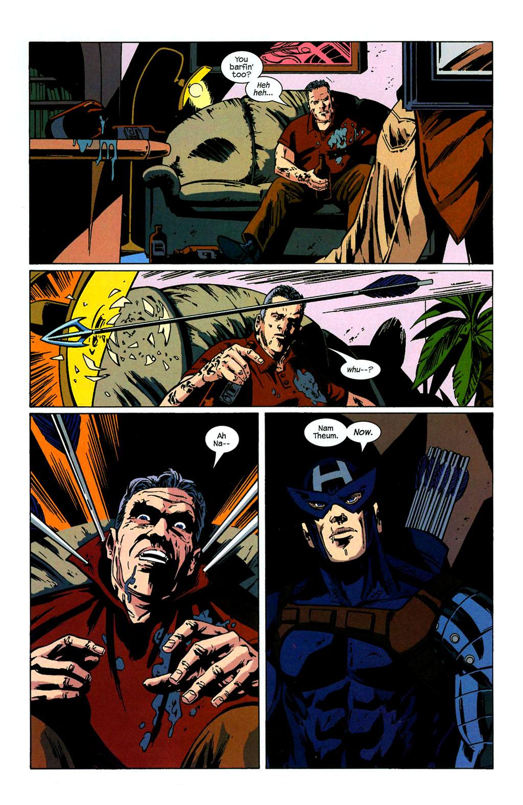 Hawkeye (2003) Issue #4 #4 - English 18