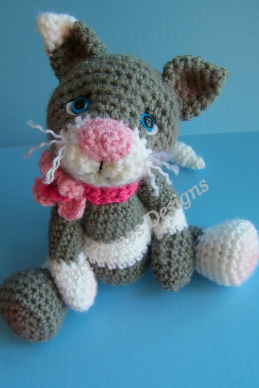 Crochet Kitten Stitch : Teris Blog: Simply Cute Cat Crochet Pattern Instant Download Now ...