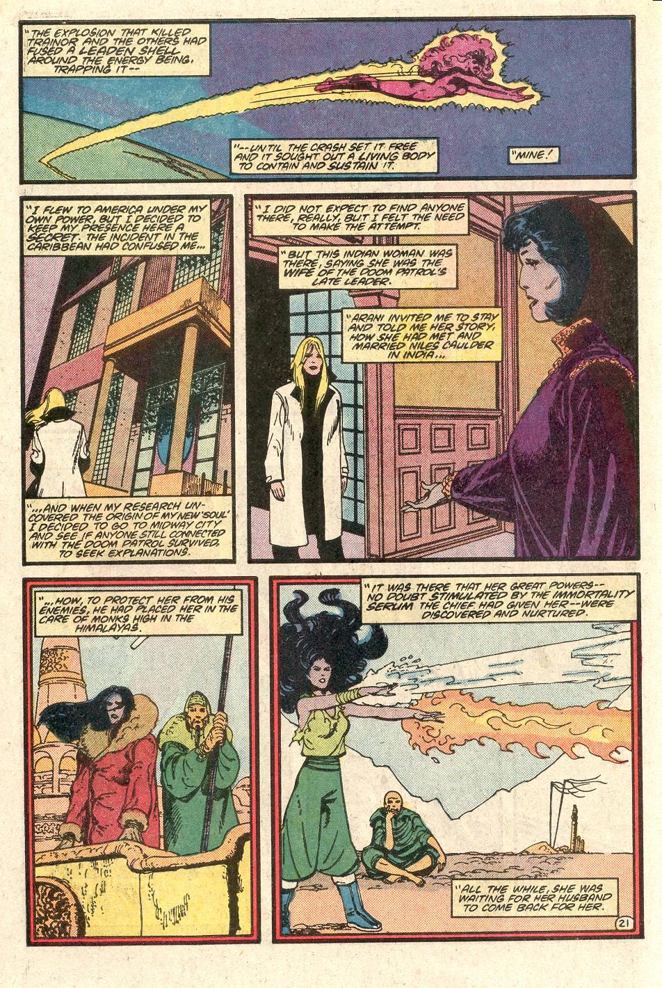 Read online Secret Origins (1986) comic -  Issue # _Annual 1 - 22
