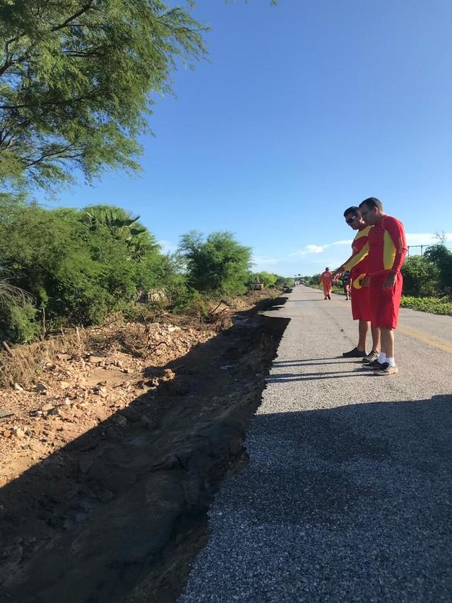 Após rompimento de barragens no RN, Bombeiros mantêm alerta e reforçam monitoramento