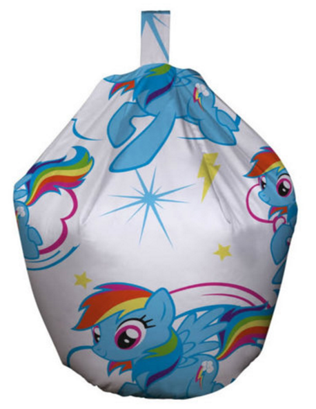 My Little Pony Bean Bag Featuring Rainbow Dash