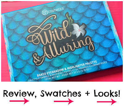 bh Cosmetics Wild & Alluring Baked Eyeshadow & Highlighter Palette