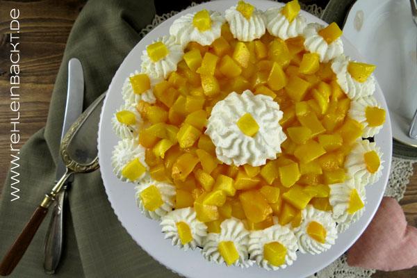 Vanille-Mango-Schokotörtchen | Foodblog rehlein backt