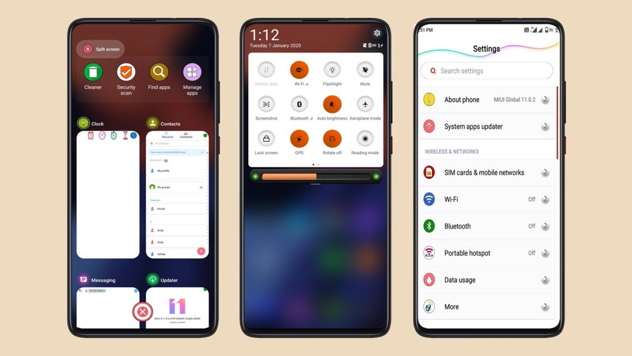 Pixel Pie 10 Q MIUI 11 Theme