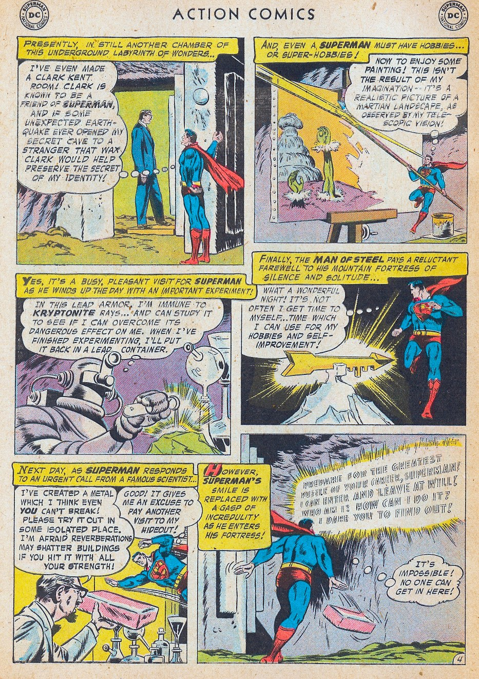 Read online Action Comics (1938) comic -  Issue #241 - 6