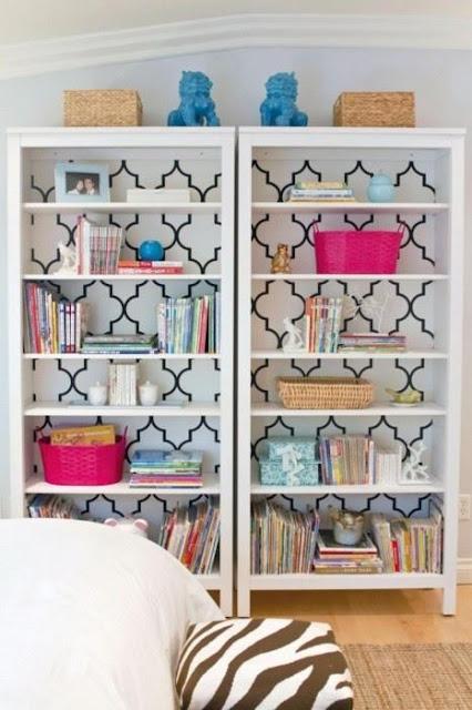 estantes duplicadas