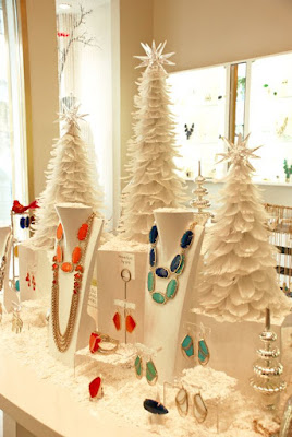 Shop for small christmas for your jewelry displays.