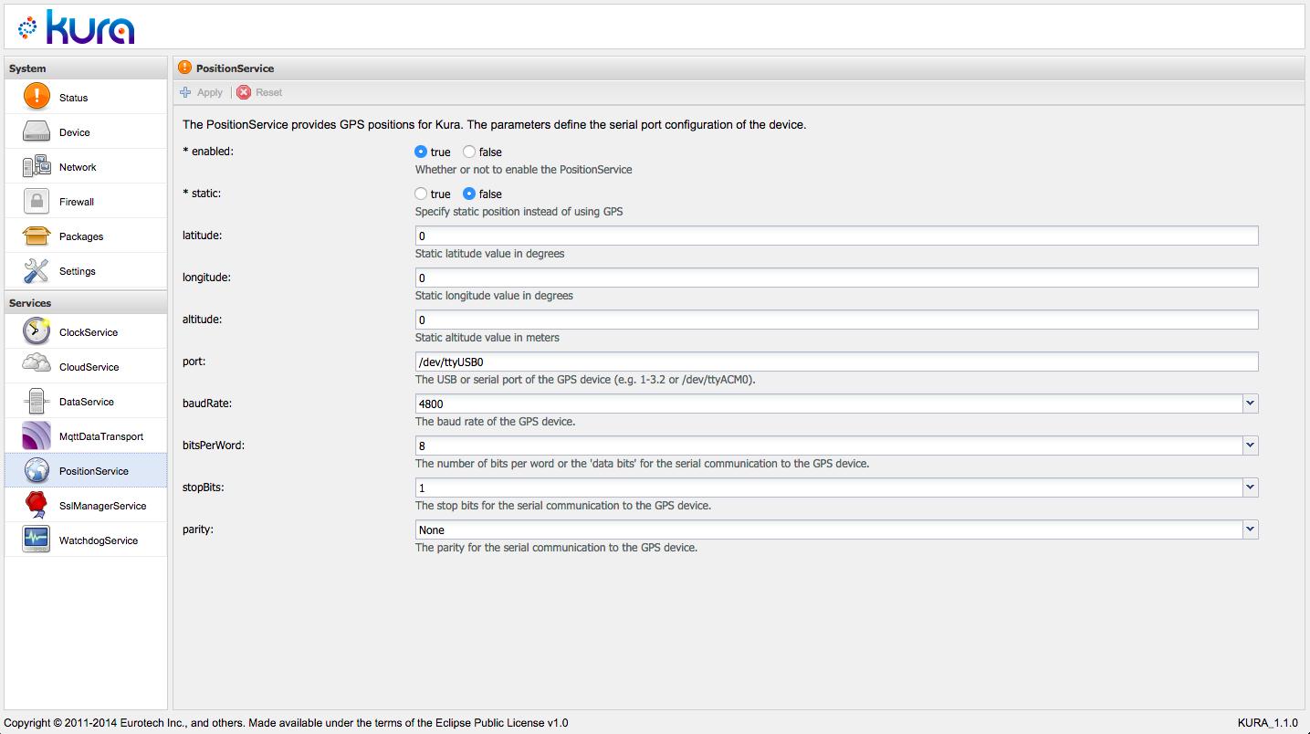 Eclipse Open IoT Challenge - GPS and Eclipse Kura (Part1