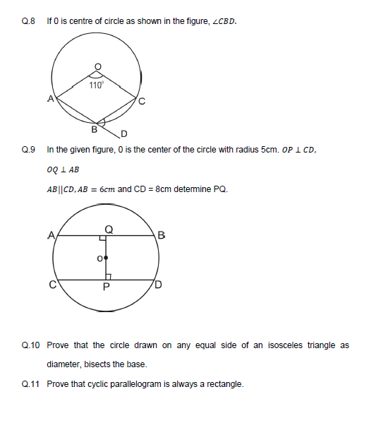 Circle  important notes with Questions