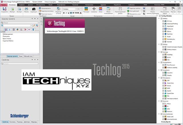 Schlumberger Techlog