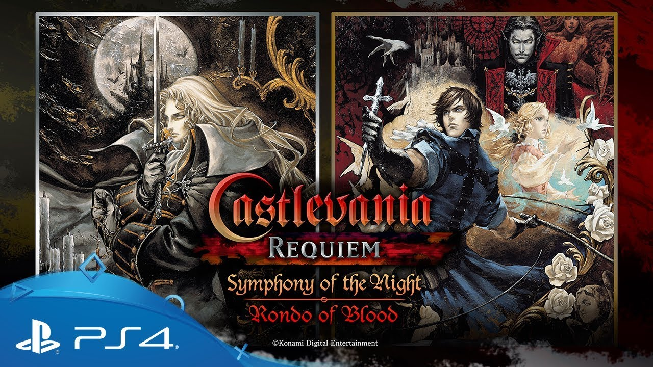 Trailer Game Castlevania Requiem: Symphony of The Night and Rondo of Blood PS4