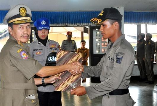 Selesai Diksar, 83 Praja Muda Satpol PP Padang Siap Tegakkan Perda