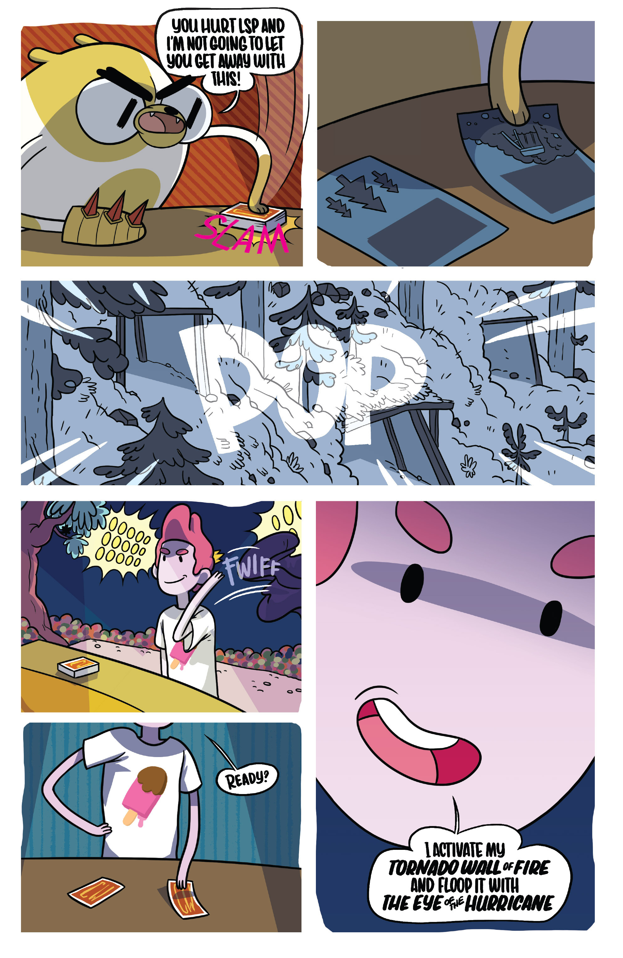 Read online Adventure Time Fionna and Cake Card Wars comic -  Issue #5 - 23