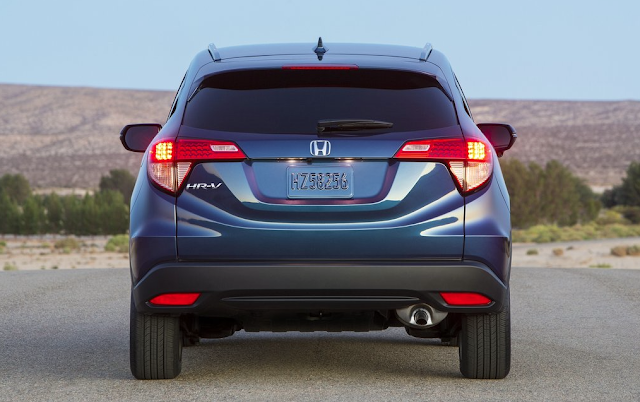 2015 Honda HR-V rear