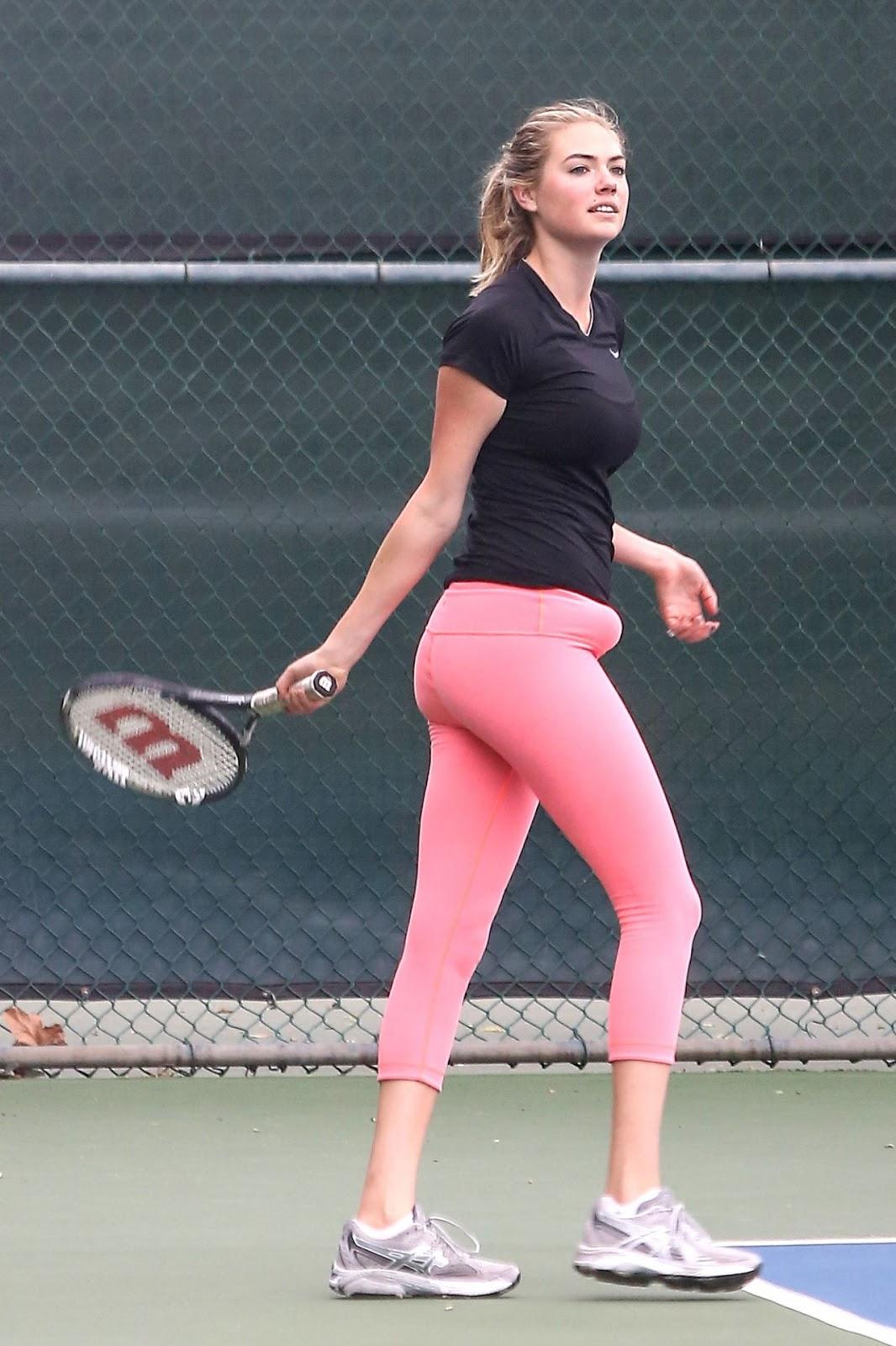 Kate Upton Hot Playing Tennis