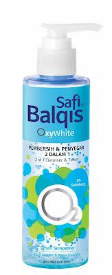 SAFI BALQIS OxyWhite Pembersih & Penyegar 2 dalam 1